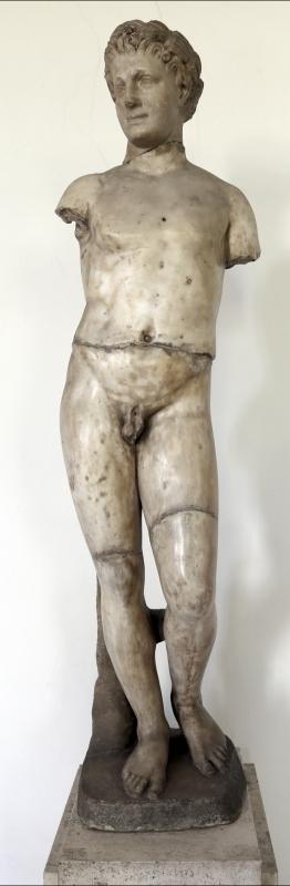 Arte romana, statua di satiro - Sailko - Parma (PR)