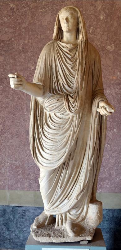 Statue della famiglia giulio claudia, dal foro di veleia, 14-54 dc ca., druso minore - Sailko - Parma (PR)
