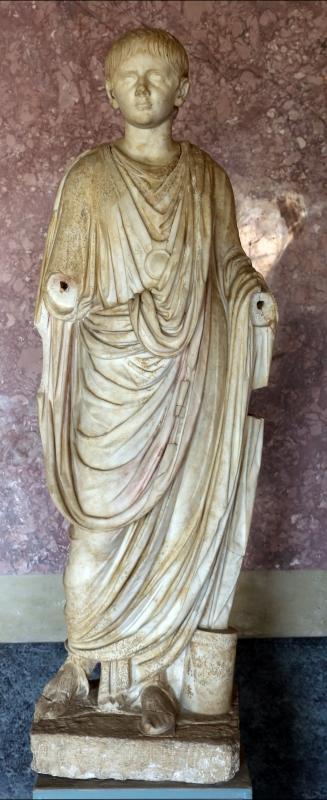 Statue della famiglia giulio claudia, dal foro di veleia, 14-54 dc ca., nerone - Sailko - Parma (PR)