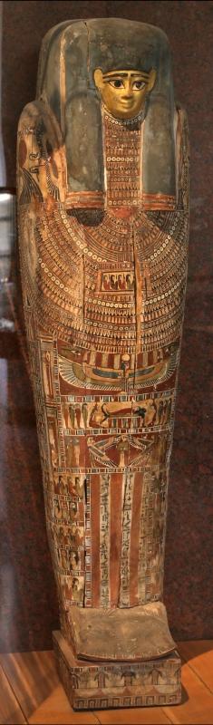 Età tarda, sarcofago di osoroeris, da zagazig - Sailko - Parma (PR)