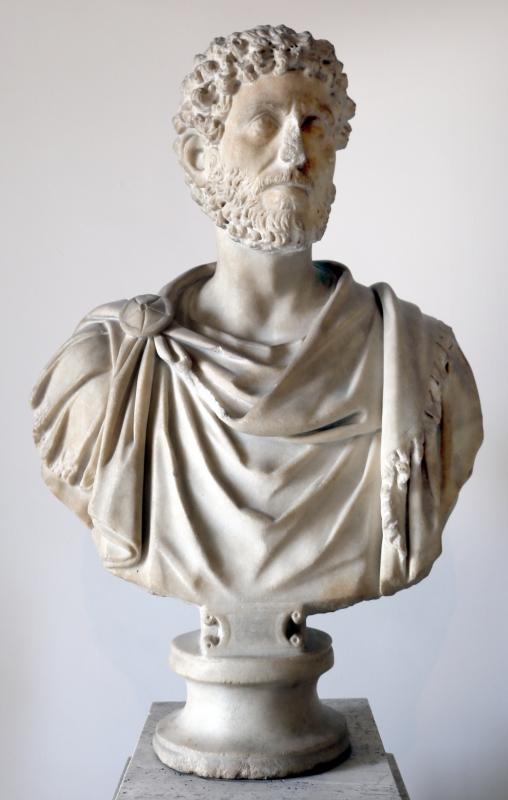 Età antoniniana, busto virile - Sailko - Parma (PR)