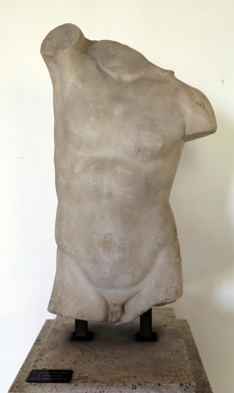 Torso dell'eros di prassitele, collezione farnese - Sailko - Parma (PR)