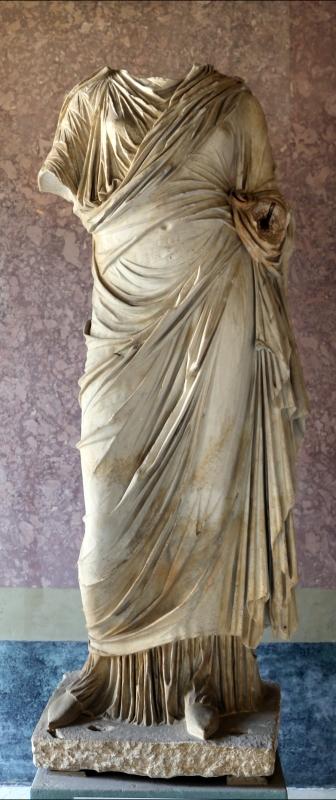Statue della famiglia giulio claudia, dal foro di veleia, 14-54 dc ca., livia augusta (forse) - Sailko - Parma (PR)