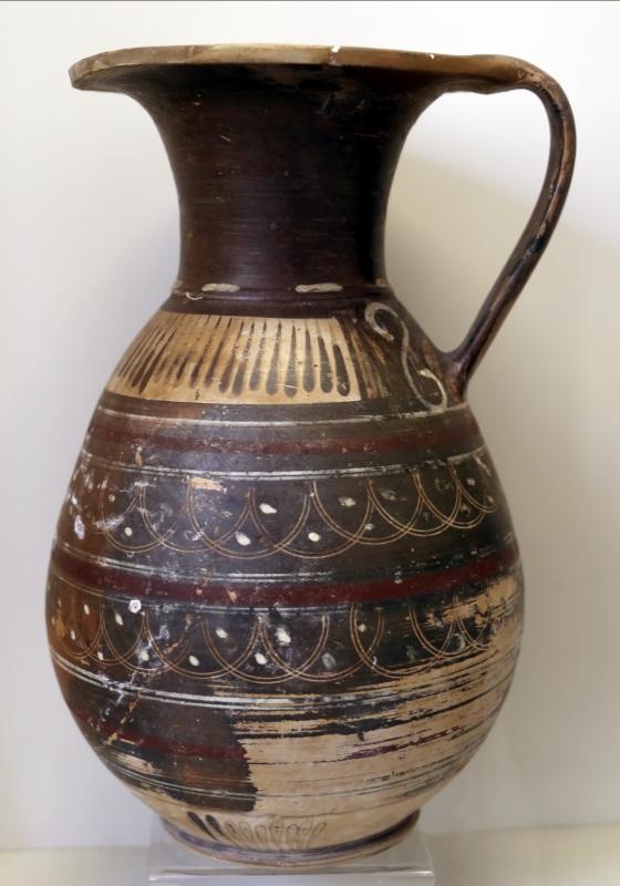Oinochoe italo-geometrica, 700-650 ac ca - Sailko - Parma (PR)
