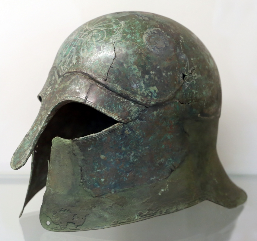 Elmo corinzio, IV secolo ac. 02 - Sailko - Parma (PR)