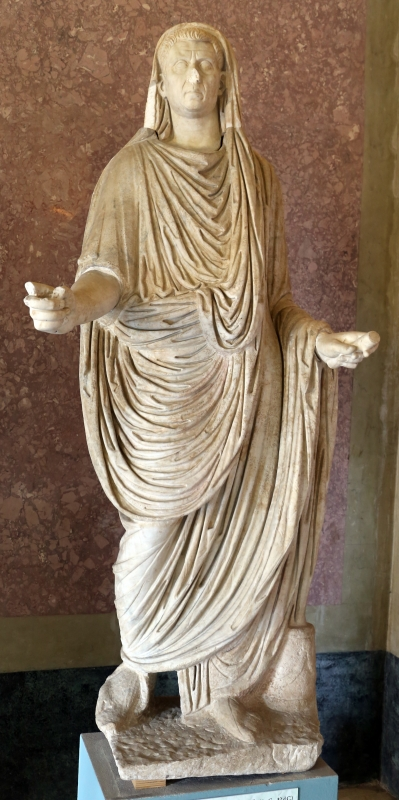 Statue della famiglia giulio claudia, dal foro di veleia, 14-54 dc ca., lucio calpurnio pisone - Sailko - Parma (PR)