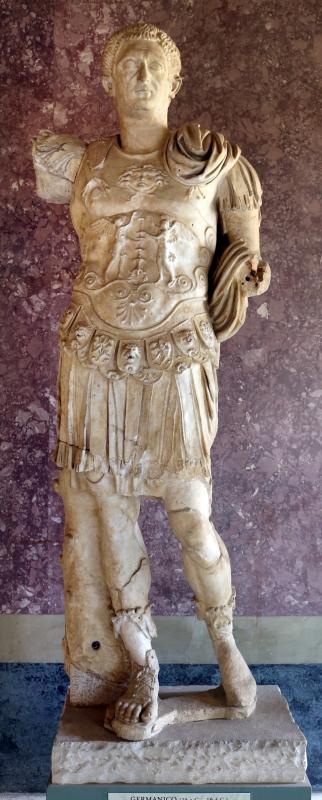 Statue della famiglia giulio claudia, dal foro di veleia, 14-54 dc ca., germanico - Sailko - Parma (PR)