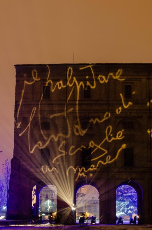 Palazzo della Pilotta durante le festività natalizie 2 - Davide Fornari - Parma (PR)