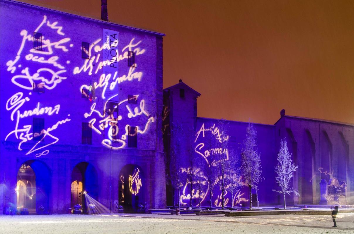 Palazzo della Pilotta a Natale con la neve - Davide Fornari - Parma (PR)