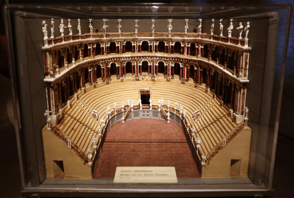 Modellino del teatro farnese di fantin-rousseau, xix secolo - Sailko - Parma (PR)