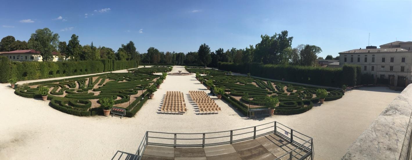 Vista giardino della reggia di Colorno - Pickin62 - Colorno (PR)