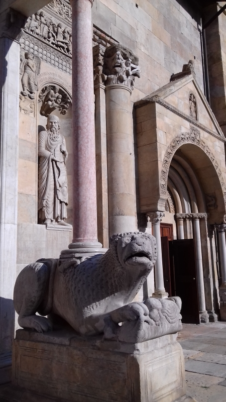 20180810 174403 Facciata del Duomo di Fidenza - Mariangela Calatroni - Fidenza (PR)