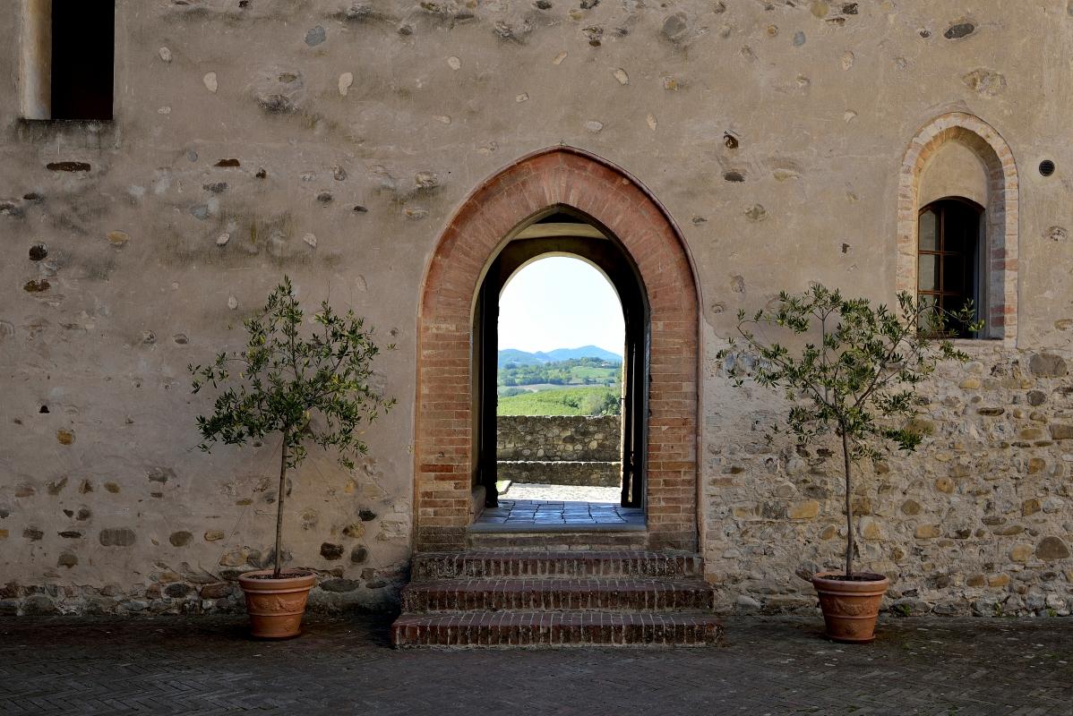 Accesso alla Corte - Carlo grifone - Langhirano (PR)