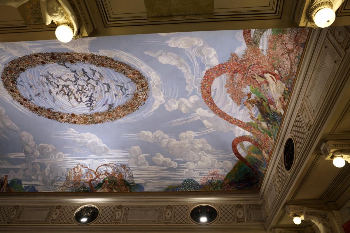 Salsomaggiore, ex-grand hotel, interno, salone delle cariatidi, di galileo chini, 05 - Sailko - Salsomaggiore Terme (PR)