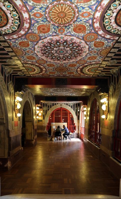 Salsomaggiore, ex-grand hotel, interno, taverna rossa, di galileo chini, 02 - Sailko - Salsomaggiore Terme (PR)