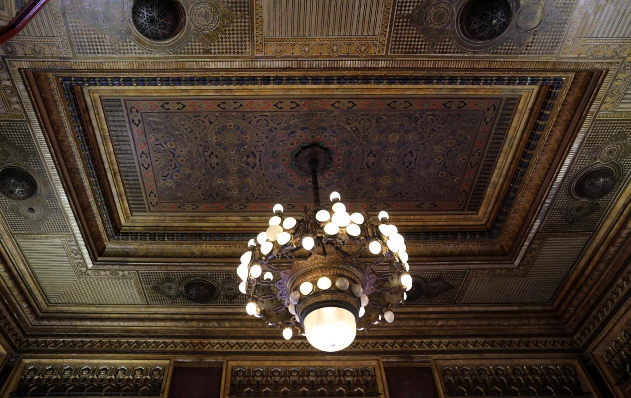Salsomaggiore, ex-grand hotel, interno, sala del lampadario, di galileo chini, 00 - Sailko - Salsomaggiore Terme (PR)