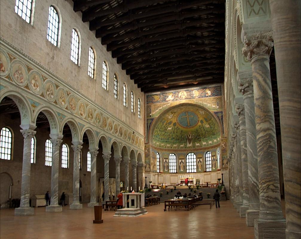 Basilica di Sant'Apollinare in Classe (interno) - Angela Rosaria - Ravenna (RA)