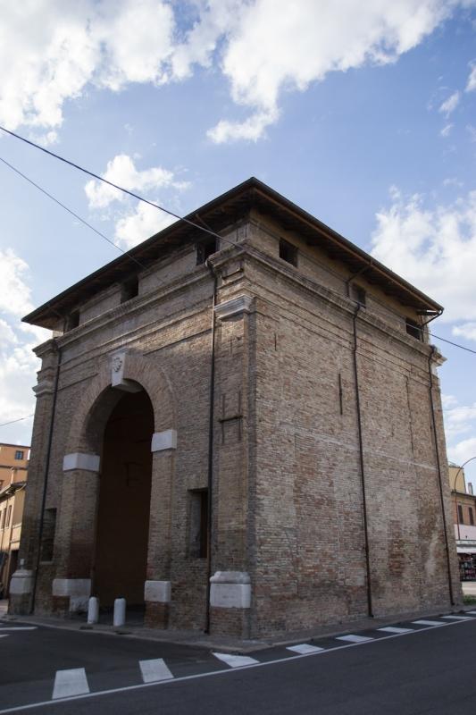 Porta Serrata, vista laterale - Maurizio Melandri - Ravenna (RA)
