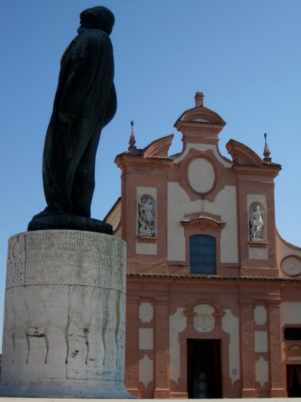 Chiesa del Suffragio e Monumento di Baracca - Sofiadiviola - Lugo (RA)