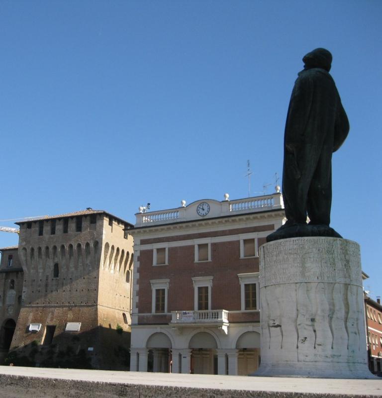 Monumento di Baracca e Rocca estense - Sofiadiviola - Lugo (RA)