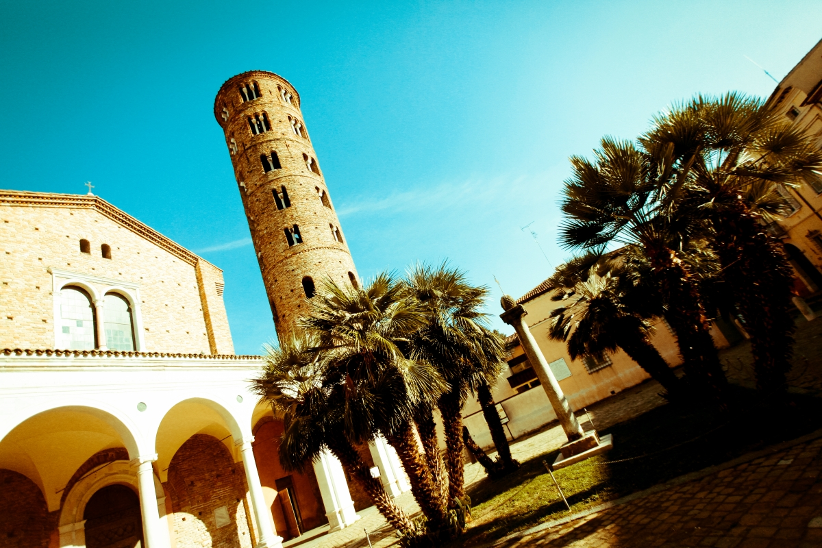 Basilica di Sant'Apollinare Nuovo colori saturi - Mario Casadio - Ravenna (RA)
