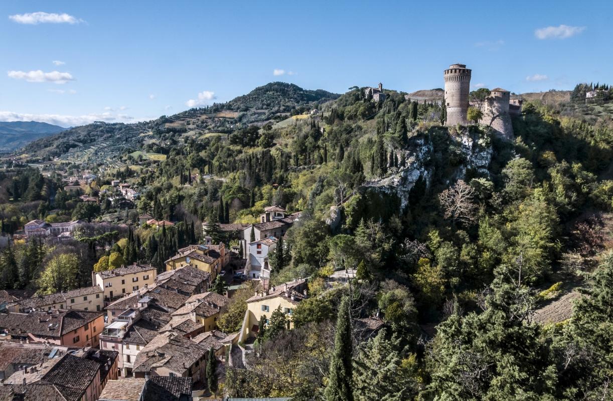 """"""" Brisighella - La Rocca """" - Vanni Lazzari - Brisighella (RA)"""