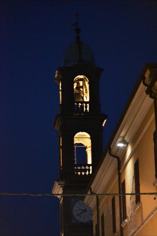 Torre by night - Pier giorgio - Massa Lombarda (RA)