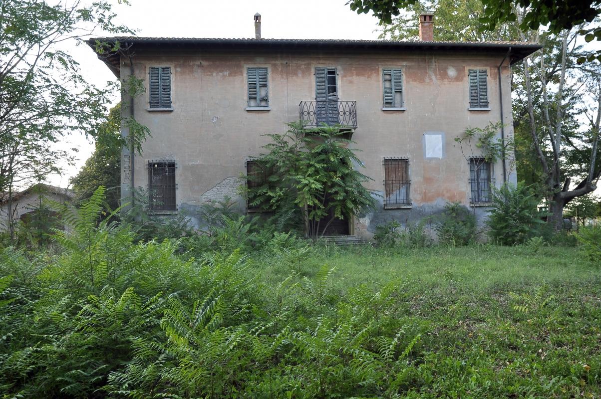 Villa Ferrari Codazzi fronte - Roberto Marconi 62 - Massa Lombarda (RA)
