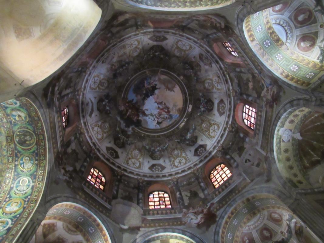 Soffitto della Basilica di San Vitale - Lorenza Tuccio - Ravenna (RA)