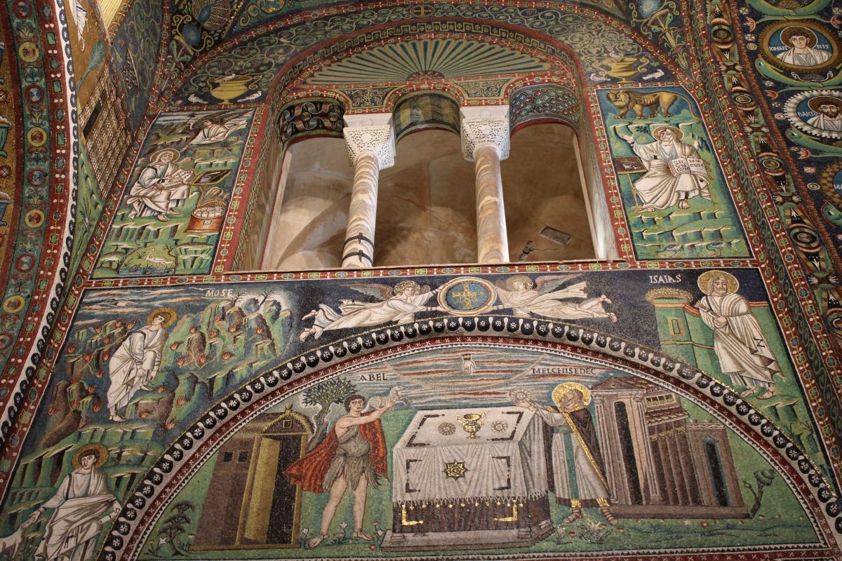 San Vitale - scorcio lato est presbiterio - Chiara Dobro - Ravenna (RA)