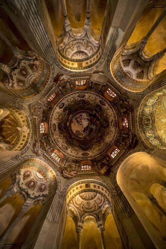 Basilica San Vitale intorno della Cupola - Wwikiwalter - Ravenna (RA)