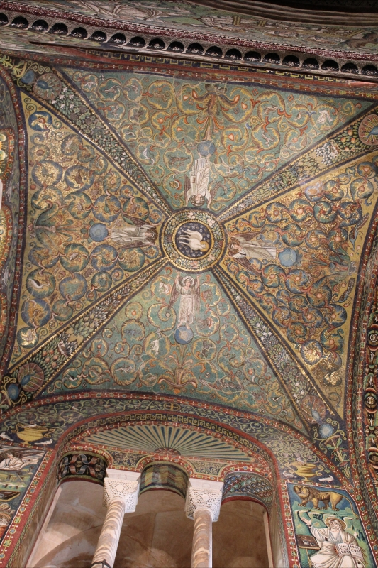 San Vitale - decorazione musiva della cupola - Chiara Dobro - Ravenna (RA)