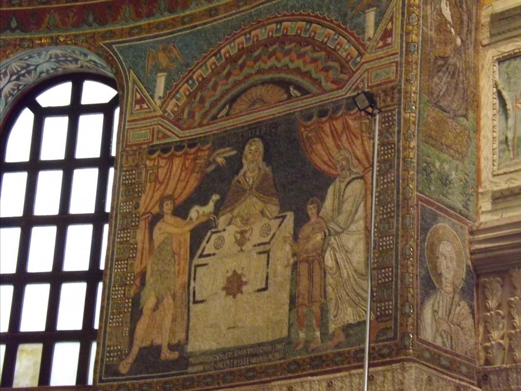 Sacrificio di Abele, Melchisedech,Abramo e Isacco - Cristina Cumbo - Ravenna (RA)