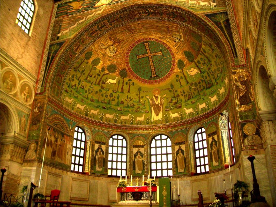 S.Apollinare in Classe, abside - Pieranna Manara - Ravenna (RA)