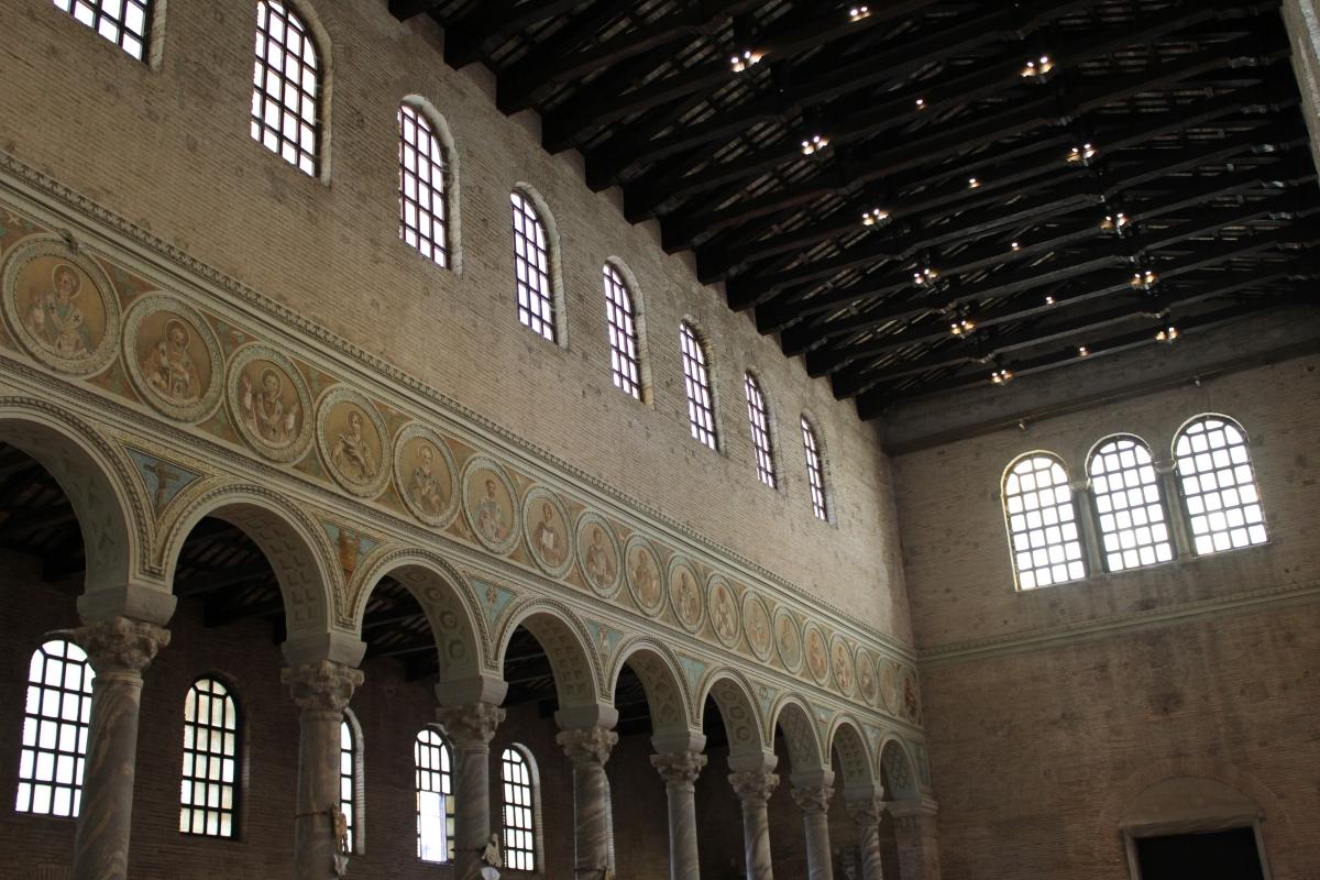 Navata sinistra - Sant'Apollinare in Classe - Chiara Dobro - Ravenna (RA)