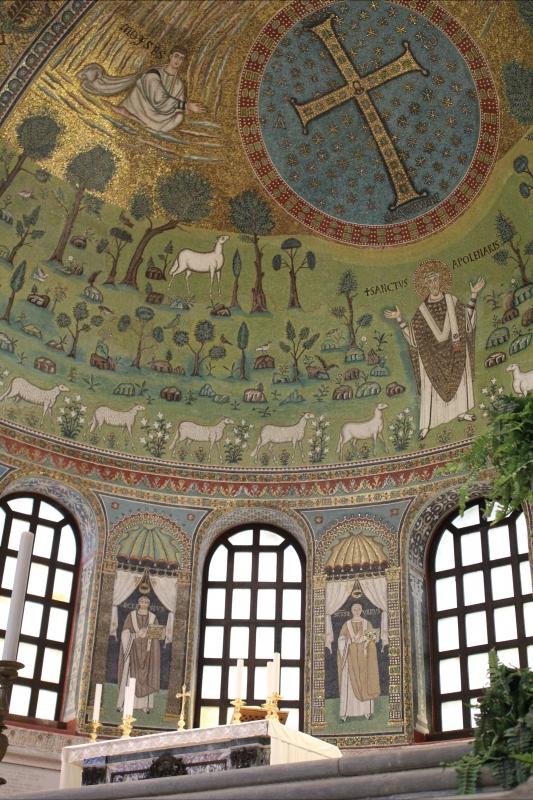 Presbiterio- Sant'Apollinare in Classe - Chiara Dobro - Ravenna (RA)