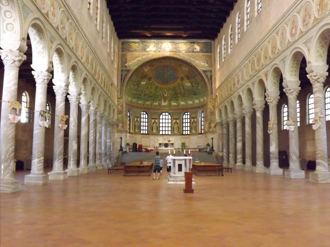 Basilica di Sant'Apollinare in Classe, navata mediana - Cristina Cumbo - Ravenna (RA)