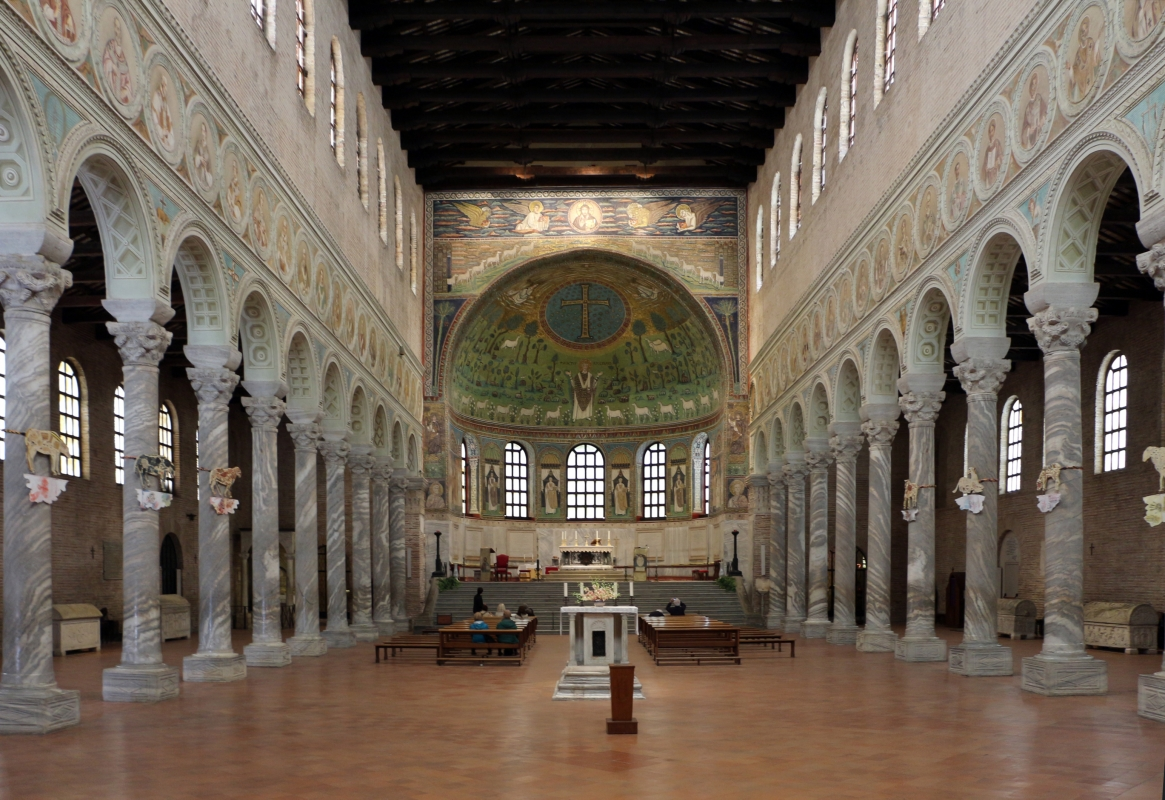 Sant'apollinare in classe, interno 01 - Sailko - Ravenna (RA)