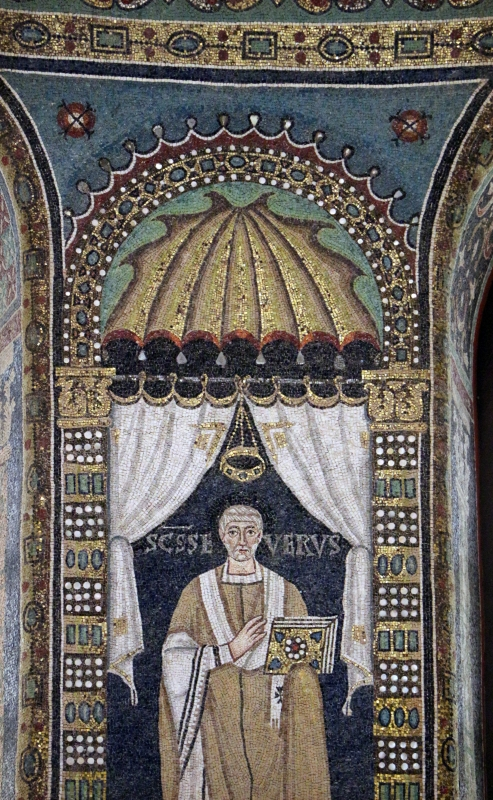 Sant'apollinare in classe, mosaici del catino, severo, 550 ca. 02 - Sailko - Ravenna (RA)