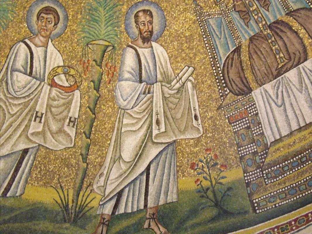 Particolare di San Paolo, cupola del battistero degli Ariani - Cristina Cumbo - Ravenna (RA)