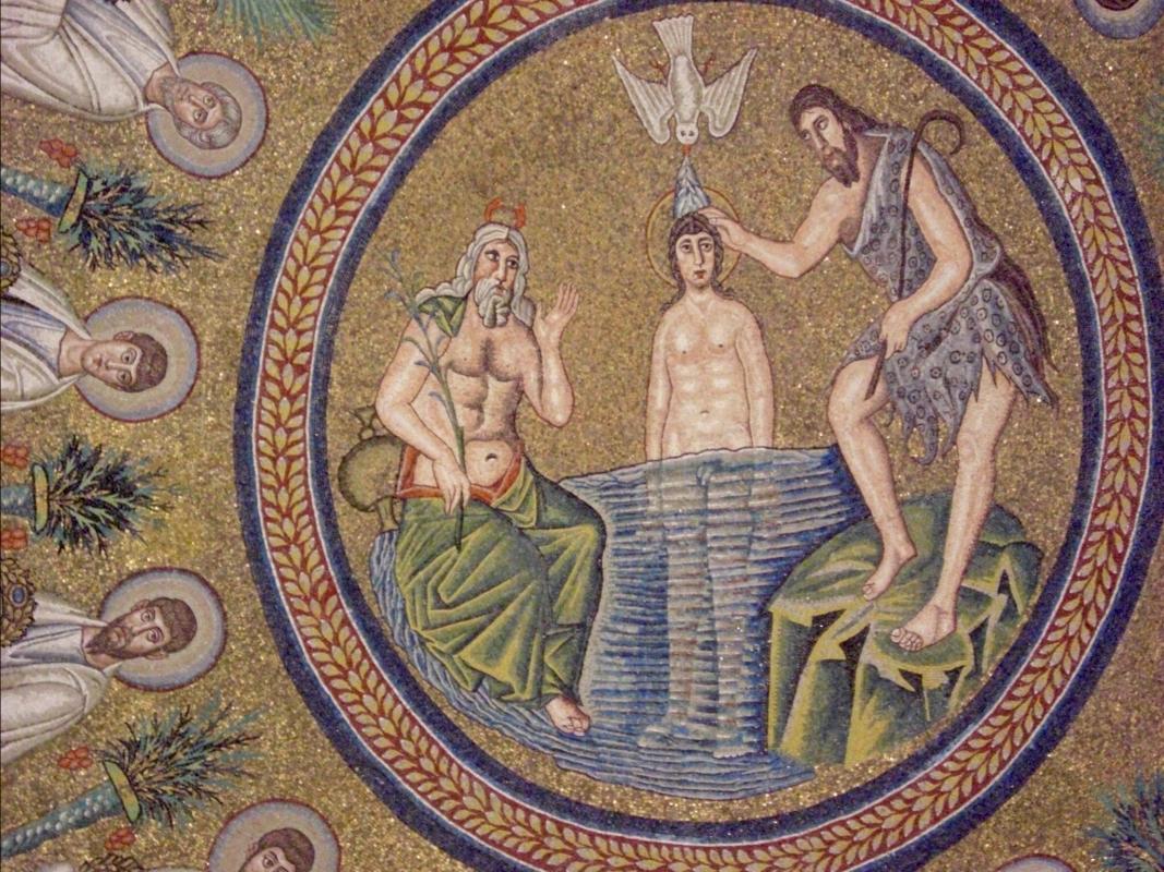 "Battistero degli Ariani ""Battesimo"" - Clawsb - Ravenna (RA)"
