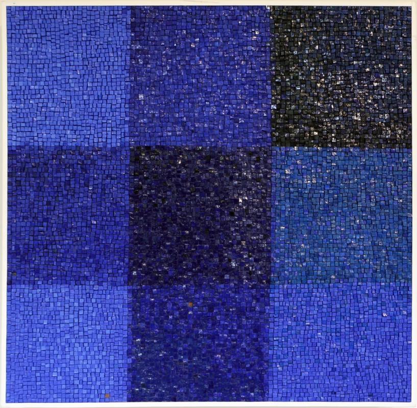 Lino linossi, concezione blu, spazio relazionale, 1999 - Sailko - Ravenna (RA)