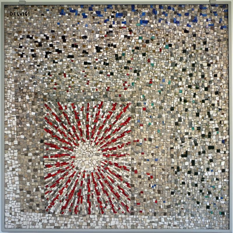Gruppo mosaicisti su dis. di mario de luigi, senza titolo, 1959 - Sailko - Ravenna (RA)