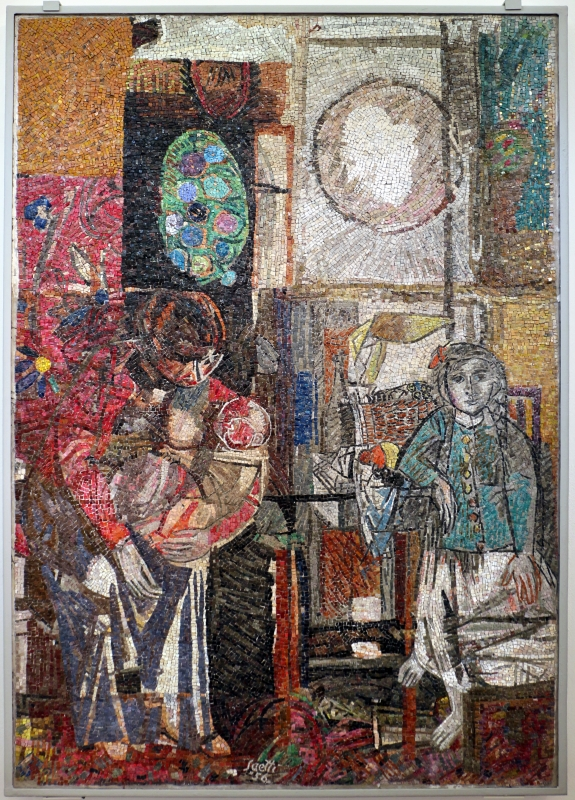 Renato signorini su dis. di bruno saetti, senza titolo, 1956 - Sailko - Ravenna (RA)