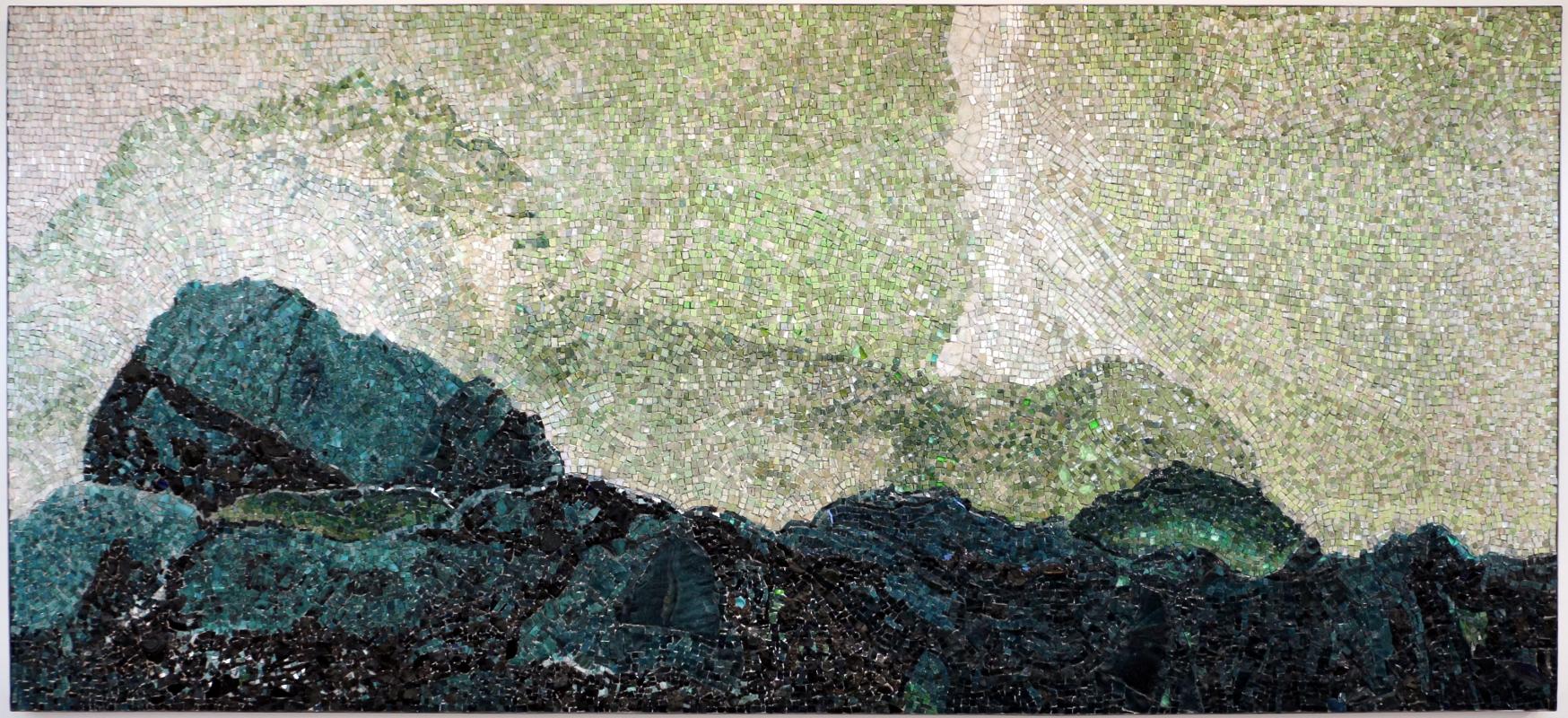 Luciana notturni e daniele strada su dis. di michelangelo antonioni, le montagne incantate, 1997 - Sailko - Ravenna (RA)