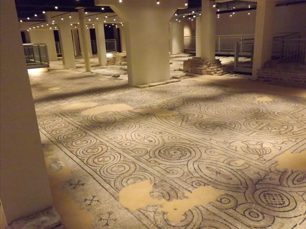 Panoramica dei pavimenti della domus - Cristina Cumbo - Ravenna (RA)