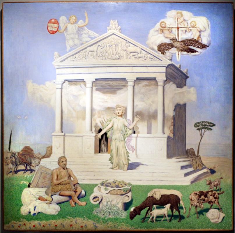 Tullio garbari, la sibilla di terlago, 1930 (rovereto, mart) 01 - Sailko - Ravenna (RA)