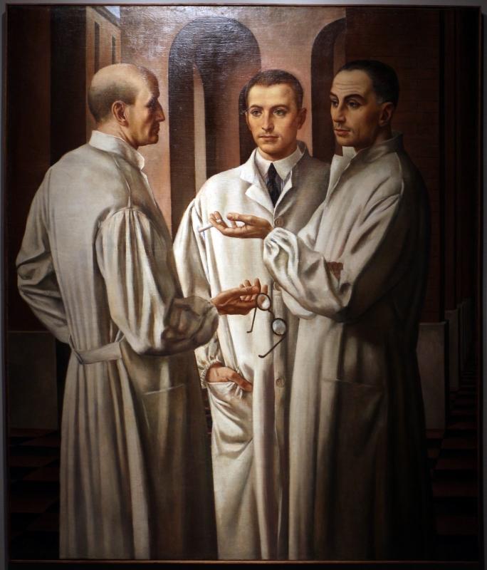 Ubaldo oppi, i chirurghi, 1926 (vicenza, pal. chiericati) 01 - Sailko - Ravenna (RA)