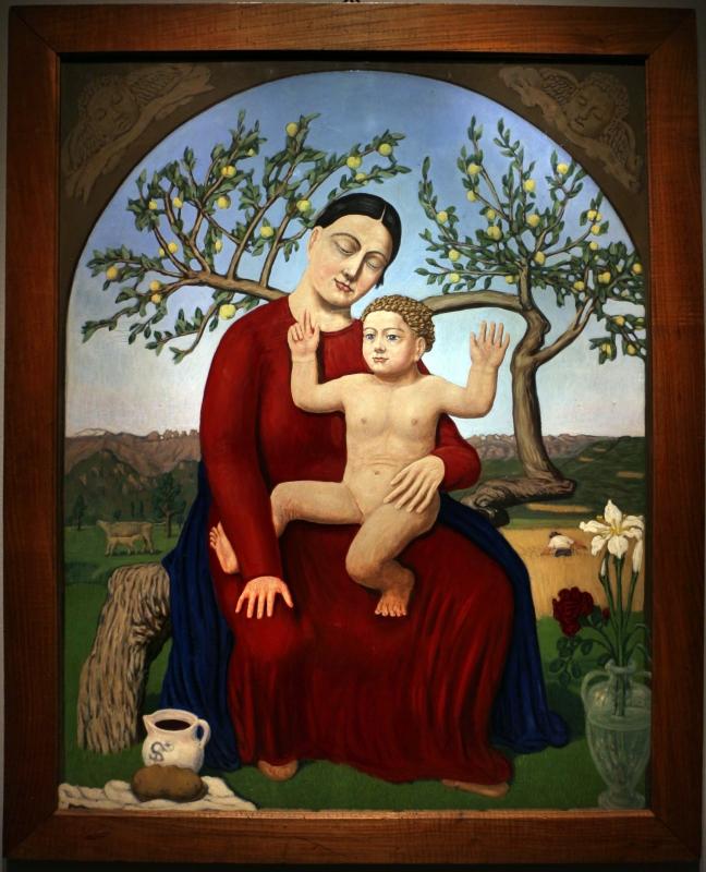 Tullio Garbari, Madonna della Pace, 1927 (Trento, Museo Diocesano Tridentino) - Sailko - Ravenna (RA)