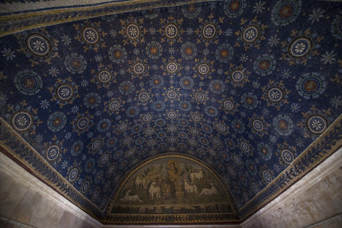 Mausoleo Galla Placidia volta - Wwikiwalter - Ravenna (RA)